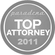 Pasadena Top Attorney - 2011